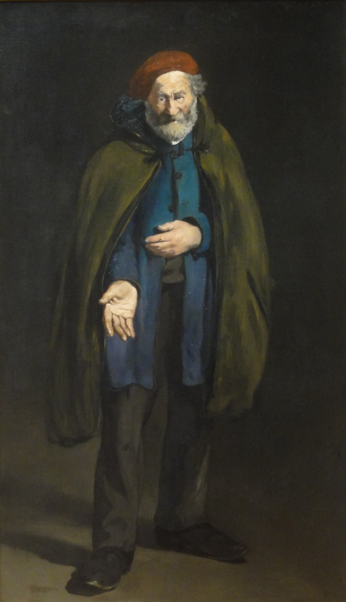 Edouard Manet, Beggar with a Duffle Coat, 1865